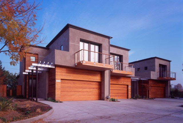 Henry Town Homes contemporary-exterior