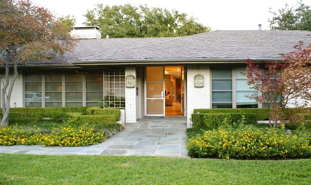 Modern dallas ranch home contemporary exterior for Modern ranch homes