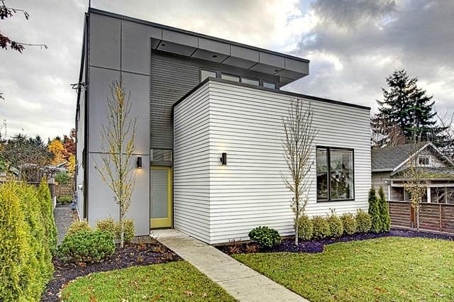 modern exterior by Elemental Design, LLC