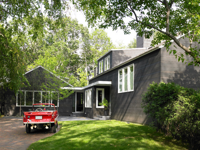 modern cottage contemporary exterior minneapolis by streeter
