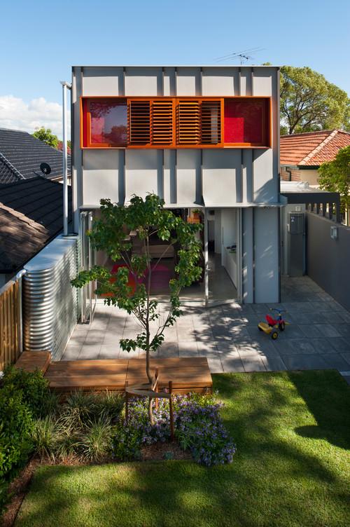 install a rainwater tank along the fenceline