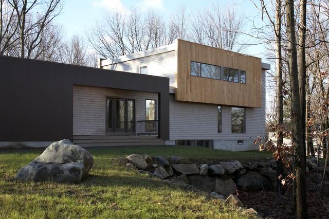 eBay House contemporary-exterior