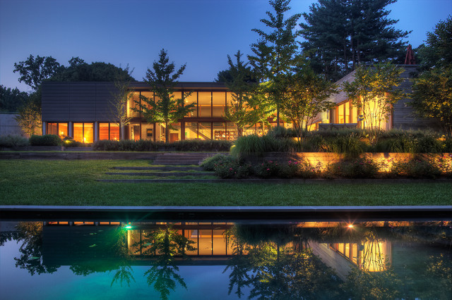 Woodvalley House contemporary-exterior