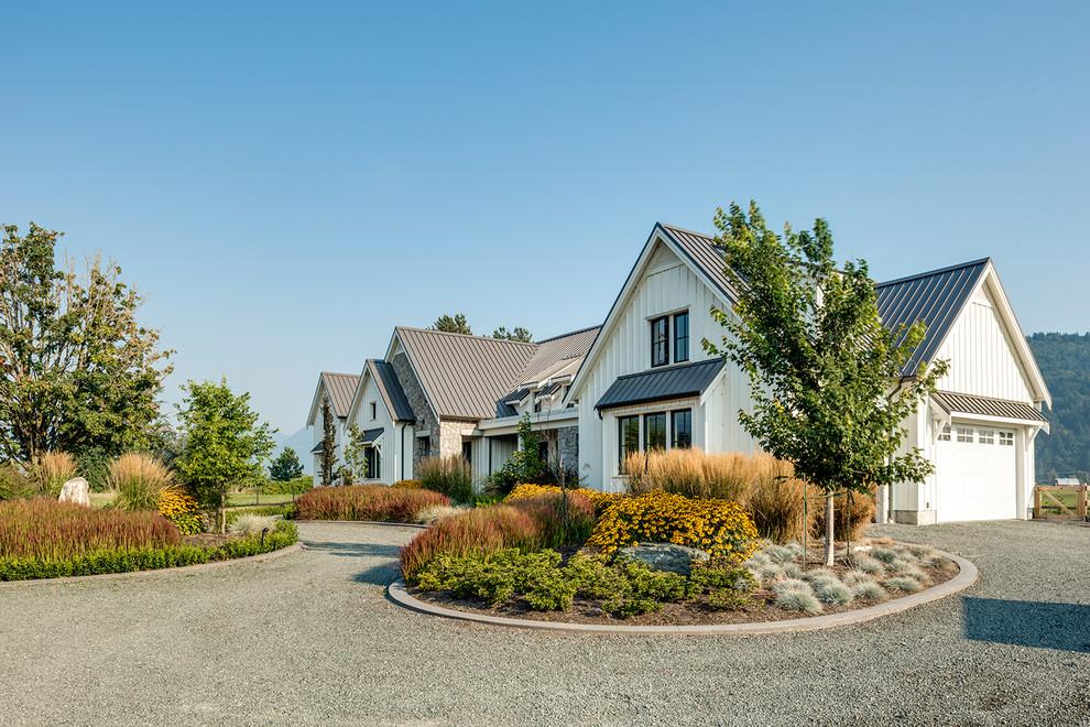 Contemporary Farmhouse - Farmhouse - Exterior - Vancouver ...