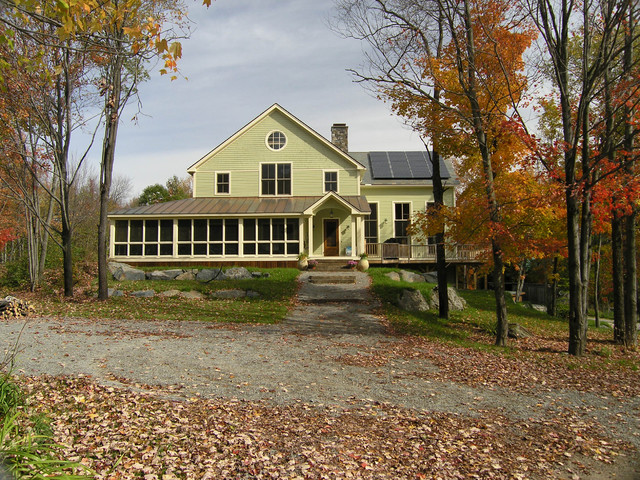 Contemporary Farmhouse, Swanton rustic-exterior