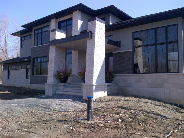 Contemporary home exterior - Contemporary - Exterior - Ottawa - by ...