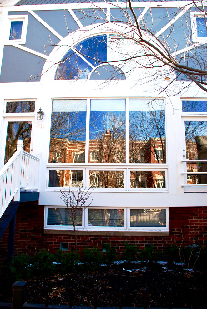 Contemporary Home Marvin Windows Amp James Hardie Siding