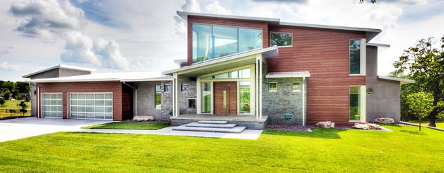 Contemporary Home Ozark MO Contemporary Exterior