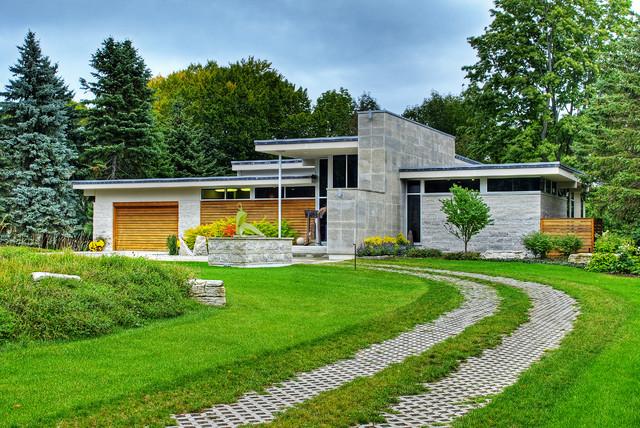 Contemporary Home Contemporary Exterior Toronto By