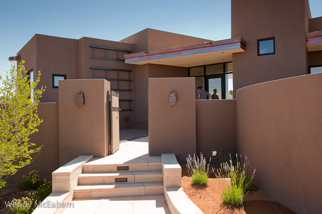 Contemporary homes in santa fe contemporary exterior for Santa fe home design