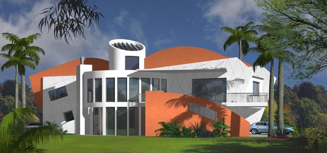 Contemporary house design for the modern family multi for Dream home designs usa