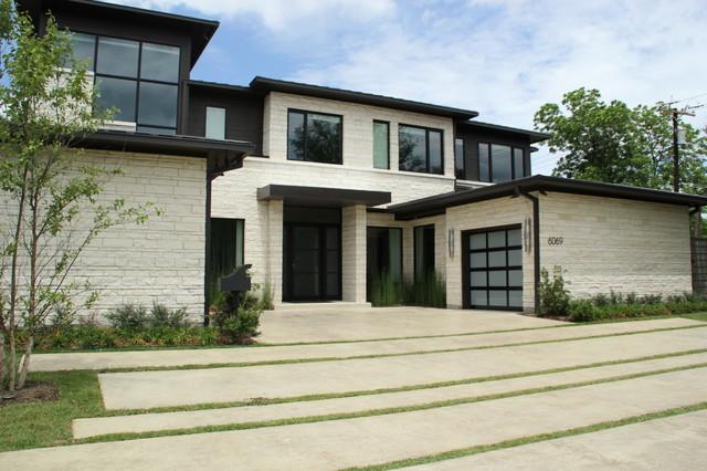 Contemporary house in dallas tx for Contemporary home builders dallas