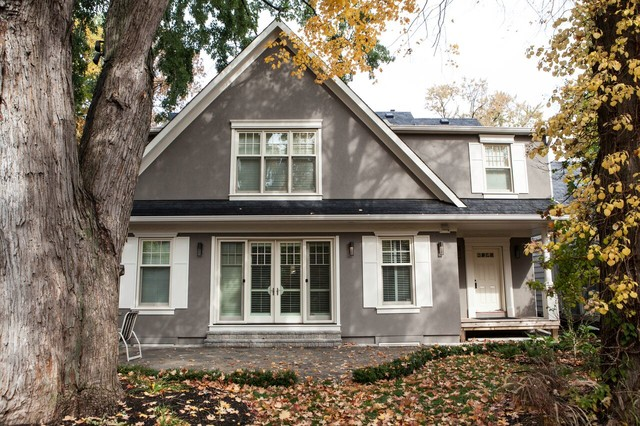 Contemporary house upgrade etobicoke traditional for Modern house upgrades