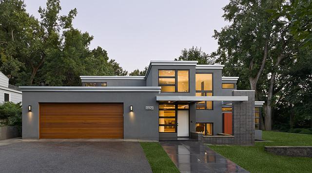 Contemporary Interlachen Home Contemporary Exterior