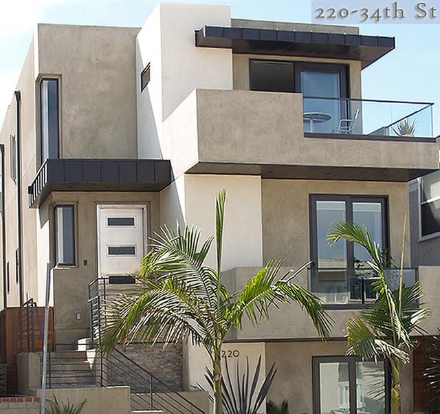Contemporary Manhattan Beach contemporary-exterior