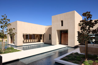 Contemporary - Contemporary - Exterior - las vegas - by Merlin Contracting & Developing, llc