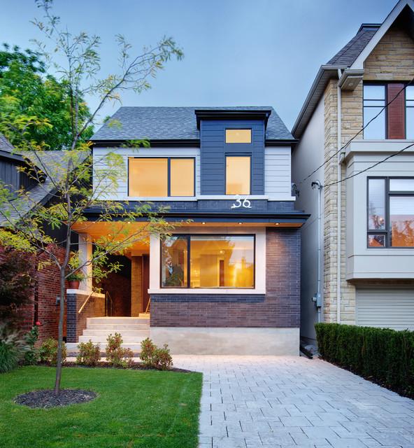 Exterior home redesign townhouse joy studio design for Townhouse exterior design