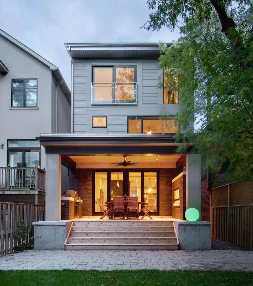 Custom Home Designs Toronto: Contemporary North Toronto Custom Home