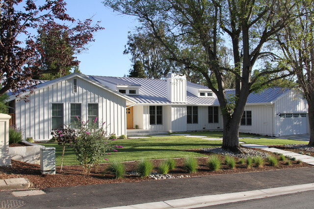 Contemporary Ranch style Home - Contemporary - Exterior ...