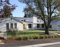 Contemporary Ranch style Home contemporary-exterior