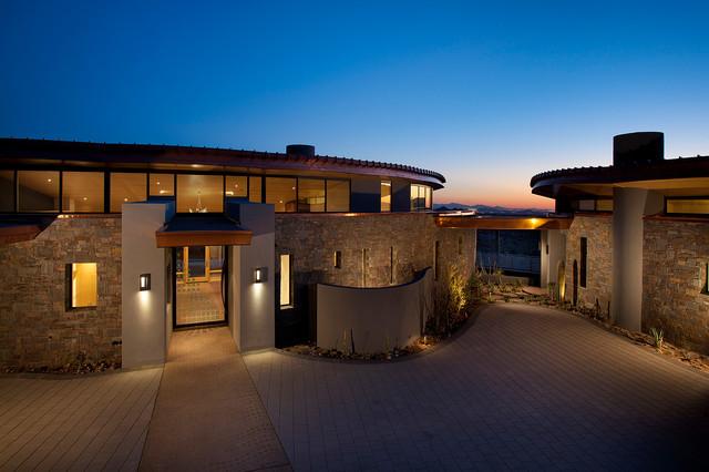Contemporary residential contemporary exterior for Modern mediterranean architecture