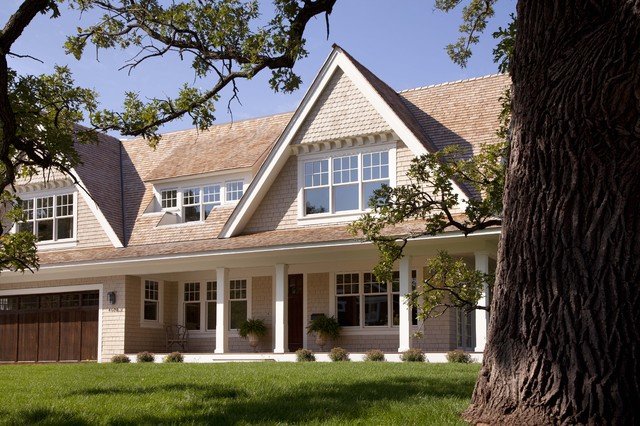 Contemporary shingle style victorian exterior for Shingle style architecture