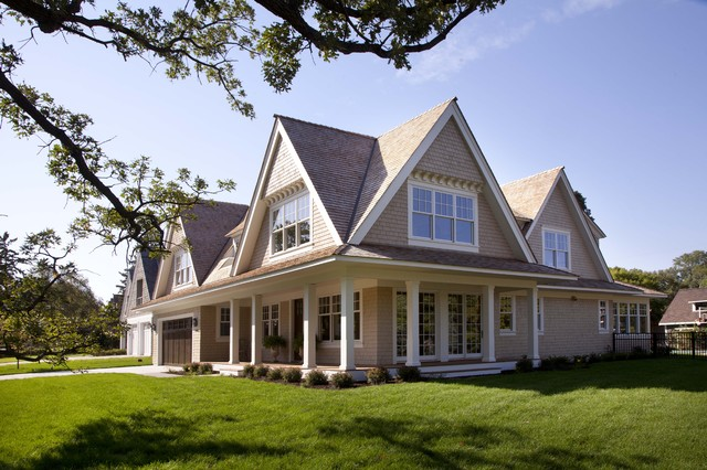 Contemporary shingle style contemporary exterior for Shingle style architecture