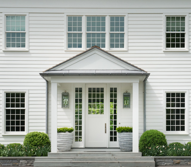 Contemporary Shingle Style Traditional Exterior New