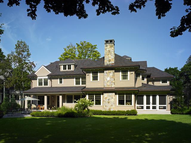 Contemporary Shingle Style traditional-exterior