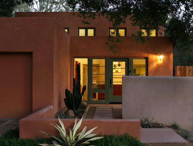 Contemporary Southwest Southwestern Exterior Santa Barbara By Studio Landscape