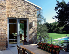 Contemporary Stone Veneer Exterior  - Coronado Stone Products traditional exterior