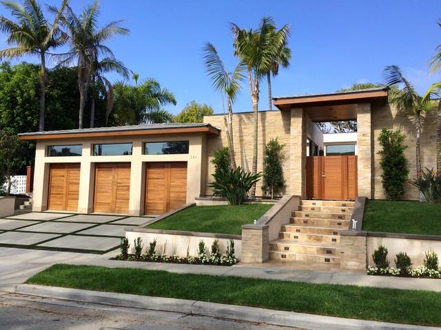 Contemporary tropical design corona del mar ca for Design semplice del garage