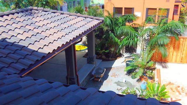 Contemporary Tropical tropical-exterior