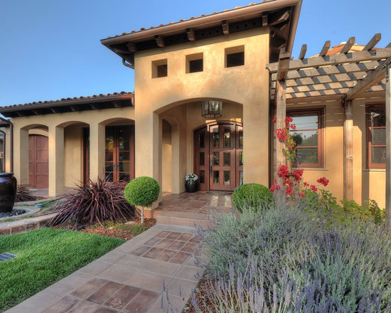 tuscan landscape design home design ideas pictures