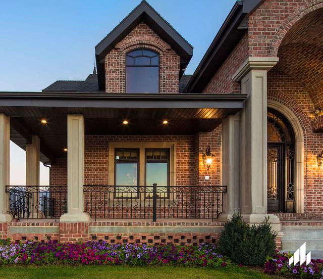 Contemporary Utah Brick Home - Contemporary - Exterior ...