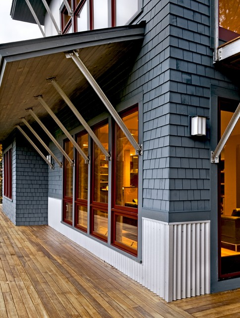 Contemporary Weekend House Sugar Hill Nh Contemporary