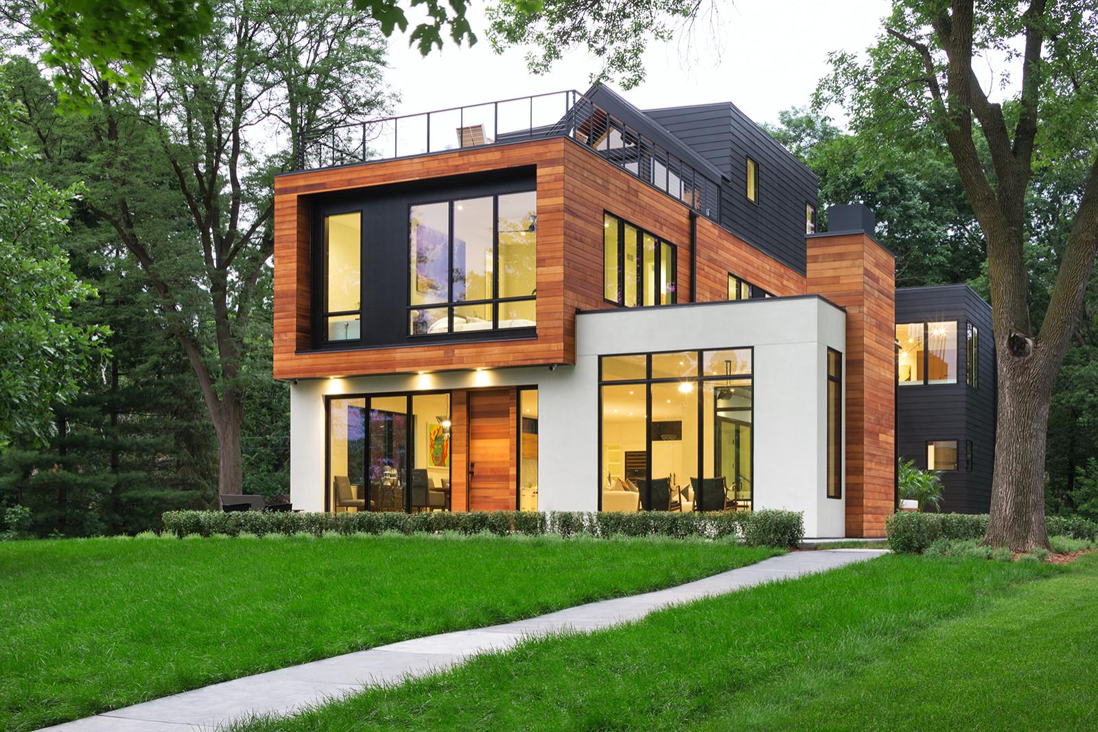 75 Beautiful Contemporary Exterior Home Pictures Ideas February 2021 Houzz
