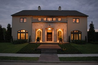 Continental Custom Home 1 Front Elevation