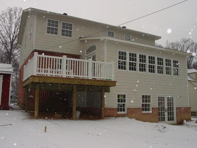 Cook Bros. of Arlington, VA. -  Rear Additions traditional-exterior