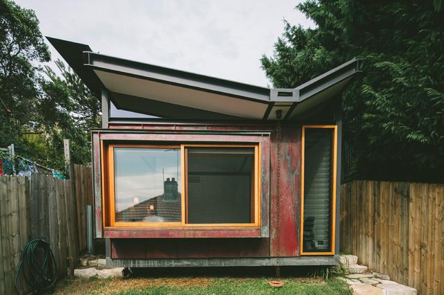 Copper house contemporary exterior