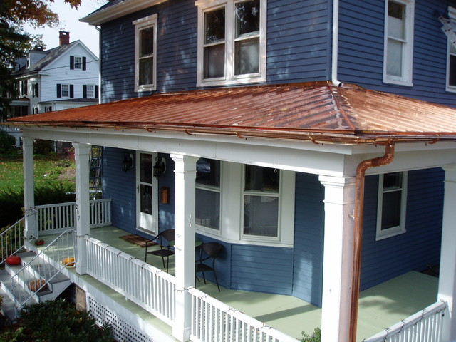 Copper Roofs Traditional Exterior Other Metro By