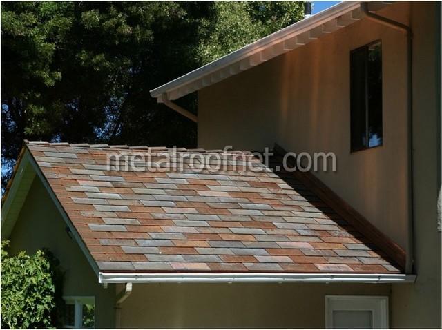 Copper Shingles, Burlingame, CA Traditional Exterior