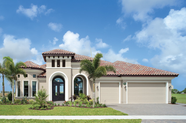 Coquina 1177 mediterranean exterior tampa by - Florida home exterior paint colors ...