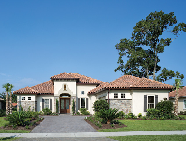 Coquina 1226 Mediterranean Exterior Tampa By