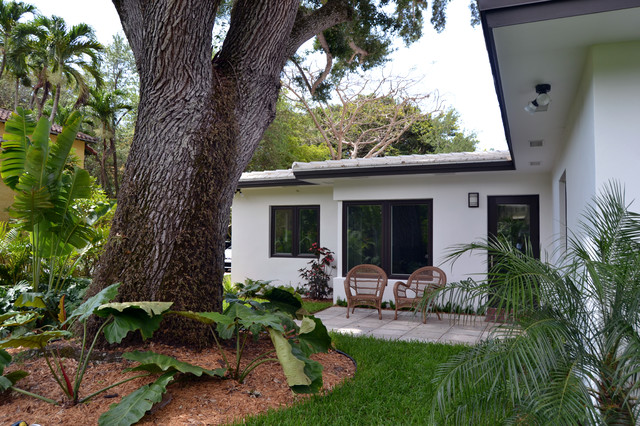Coral Gables Home Midcentury Exterior Miami By