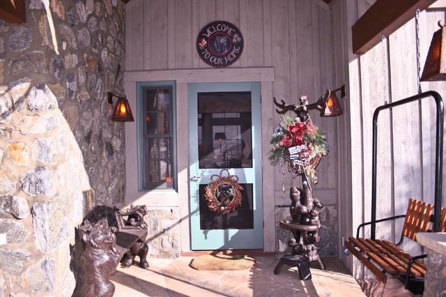 Cordillera Front Porch eclectic-exterior