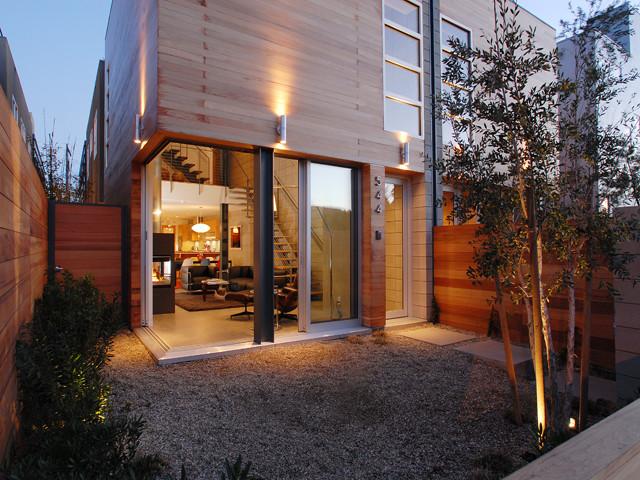 Corner Sliding Door Contemporary Exterior San Diego By Loti Enterprises Inc