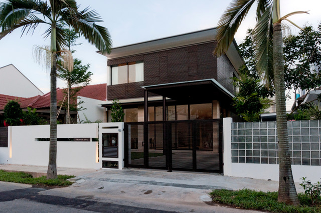 Interior design for terrace house in singapore house and for Terrace house singapore