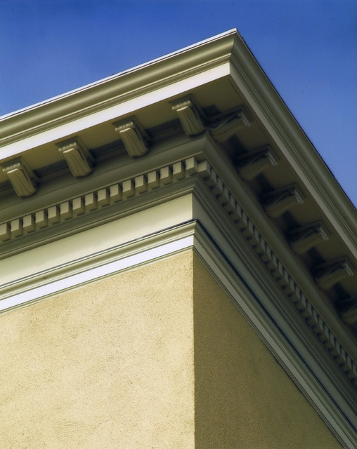 Cornice Traditional House Exterior San Francisco By Acanthus Architecture Design San Francisco Ca Houzz Uk