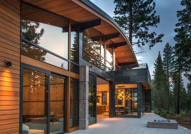 Cornice Cabin Contemporary Exterior Sacramento By